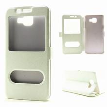 Buy Luxury Smart Front Window View Leather Flip Case Samsung Galaxy A3 A5 A7 A8 A9 2016 A310 A510 A710 7106 7505 7562 Cases HC11 for $2.85 in AliExpress store
