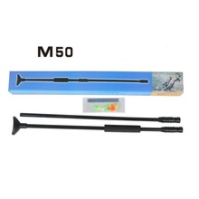 NEW   Black  Blow Gun Outdoor Sports Activities Air  gun with 10M Aluminum Material with Shooting bow  10  Darts  Free shipping(China (Mainland))