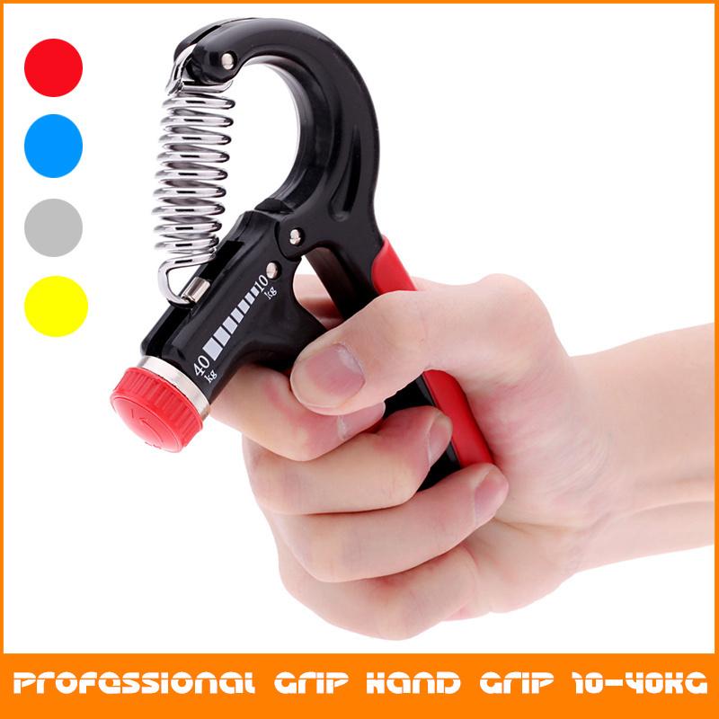 Гаджет  10-40 Kg Adjustable Heavy Grips Hand Gripper Gym Power Fitness Hand Exerciser Grip Wrist Forearm Strength Training Hand Grip None Спорт и развлечения