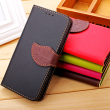 Samsung Galaxy J1 J2 J3 J5 J7 J120 J510 J710 Mini Ace J110 Flip Stand Leaf Clasp Leather Strap Phone Case Wallet Cover - BTL Group store