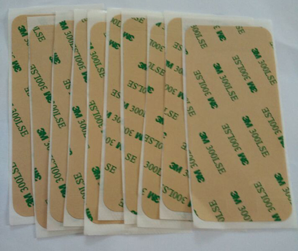 Super Deal 50pcs/lot New 3M Adhesive Sticker For iPhone 5 Pre-Cut Repair Parts High Quality Double Side Sticker Free Shipping(China (Mainland))