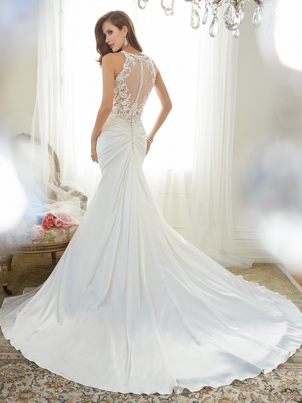Mermaid Wedding Gown With Corset Back - Wedding Dress Ideas