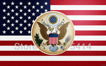 """03 United States U.S. Flag 38""""x24"""" inch wall Poster with Tracking Number"""