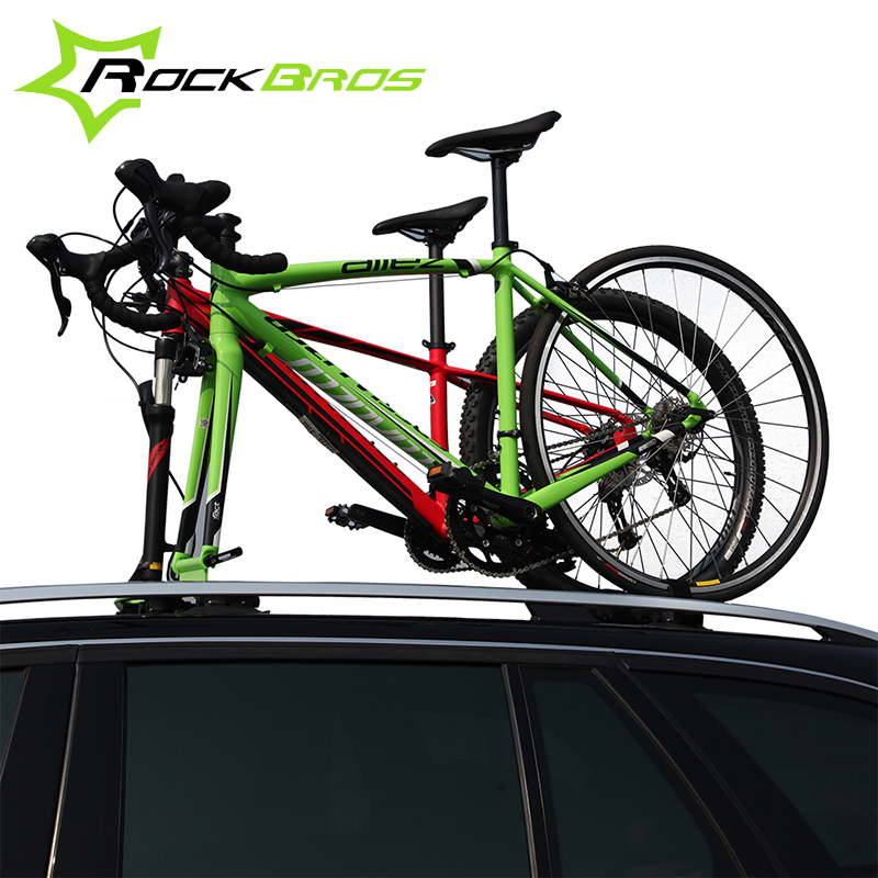 ROCKBROS Suction Roof-Top Bike Racks Bike Accessories Bicycle Sustion Cup Roof Rack Cycle SUV Sucker Talon Car Racks For 2 Bikes(China (Mainland))