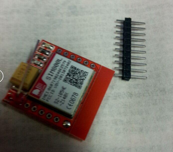 Smallest SIM800L GPRS GSM Module MicroSIM Card Core BOard Quad-band TTL Serial Port(China (Mainland))
