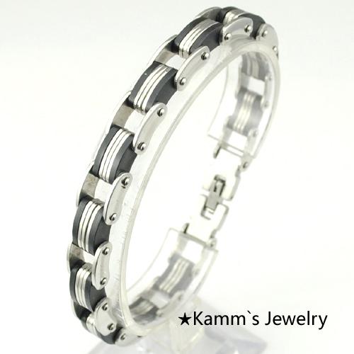 Браслет-цепь Kamm's Jewelry 316L /kb434 браслет цепь magic jewelry 925 oem