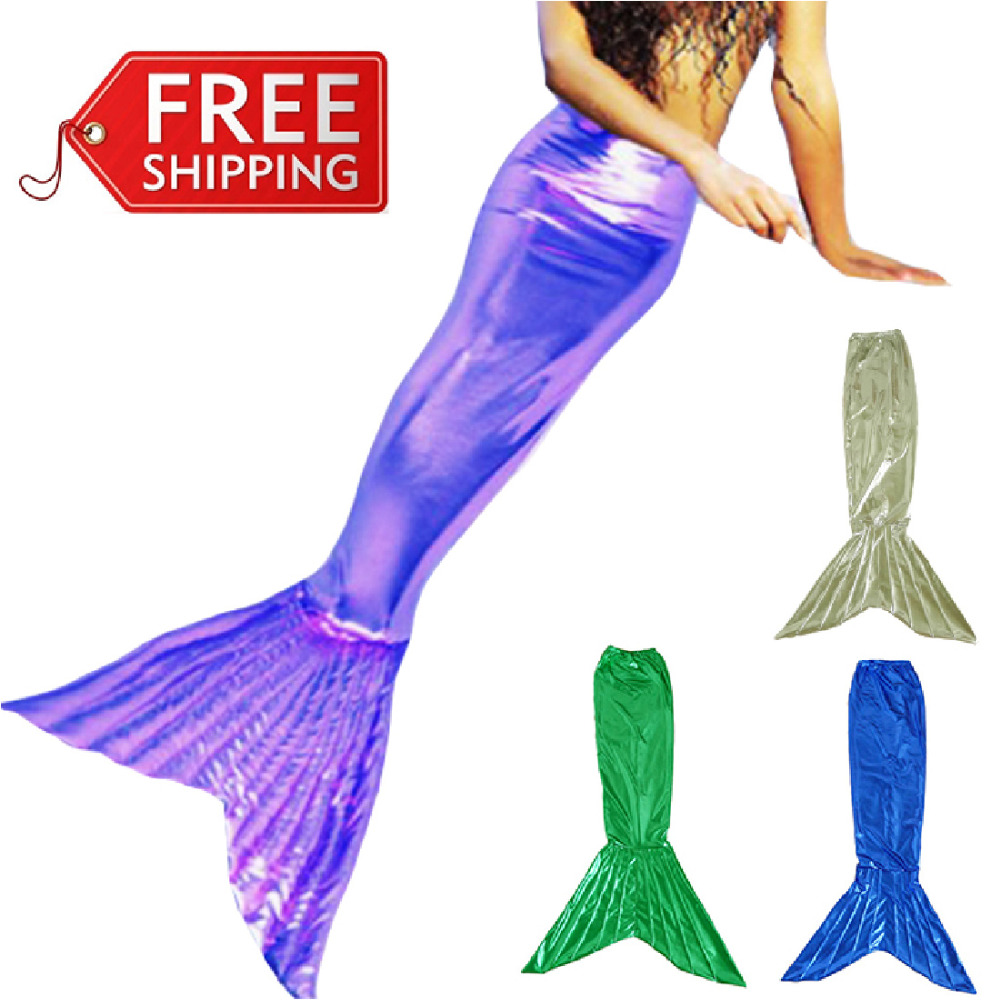mermaid tail costume for girls sexy adult mermaid costume halloween costumes for women mermaid tails cosplay party wholesale(China (Mainland))
