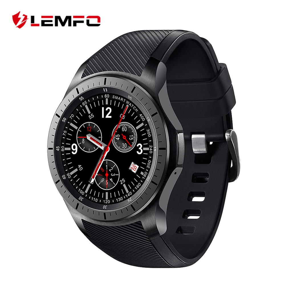 LEMFO LF16 Android 5.1 512MB+8GB MTK6580 1.39 inch Ultra Thin Smart Watch Phone support wifi bluetooth GPS SIM card smartwatch(China (Mainland))