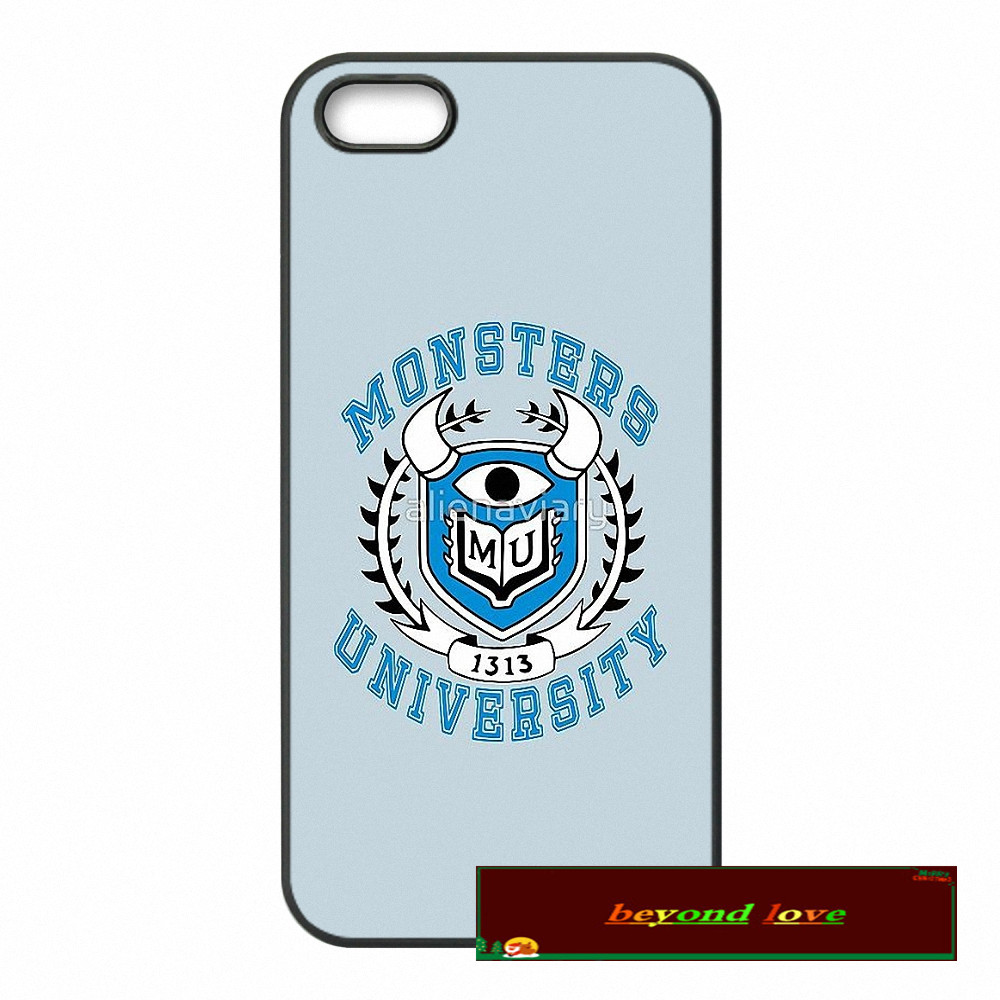 monsters university Cover case for iphone 4 4s 5 5s 5c 6 6s plus samsung galaxy S3 S4 mini S5 S6 Note 2 3 4 F003(China (Mainland))