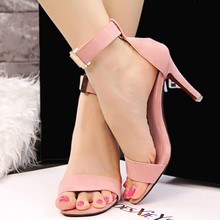 Fashion Pointed open Toe Platform Sexy High Heels Shoes Women Sandals 2016 Ladies Stiletto Sandalias Mujer Summer Shoes 9516