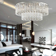 the new listing  Modern living room ceiling crystal lamp lighting lamps modern minimalist fashion round 100% quality guarantee(China (Mainland))