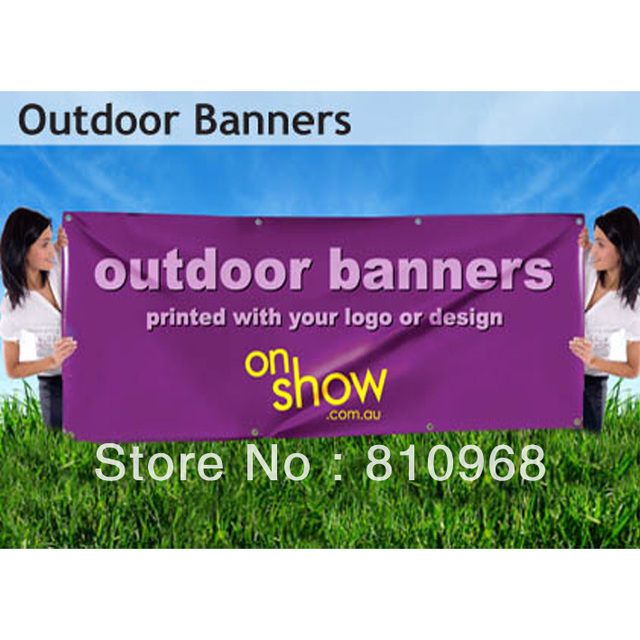 Quality PVC Outdoor Banners  (size: 2ft x 5ft)