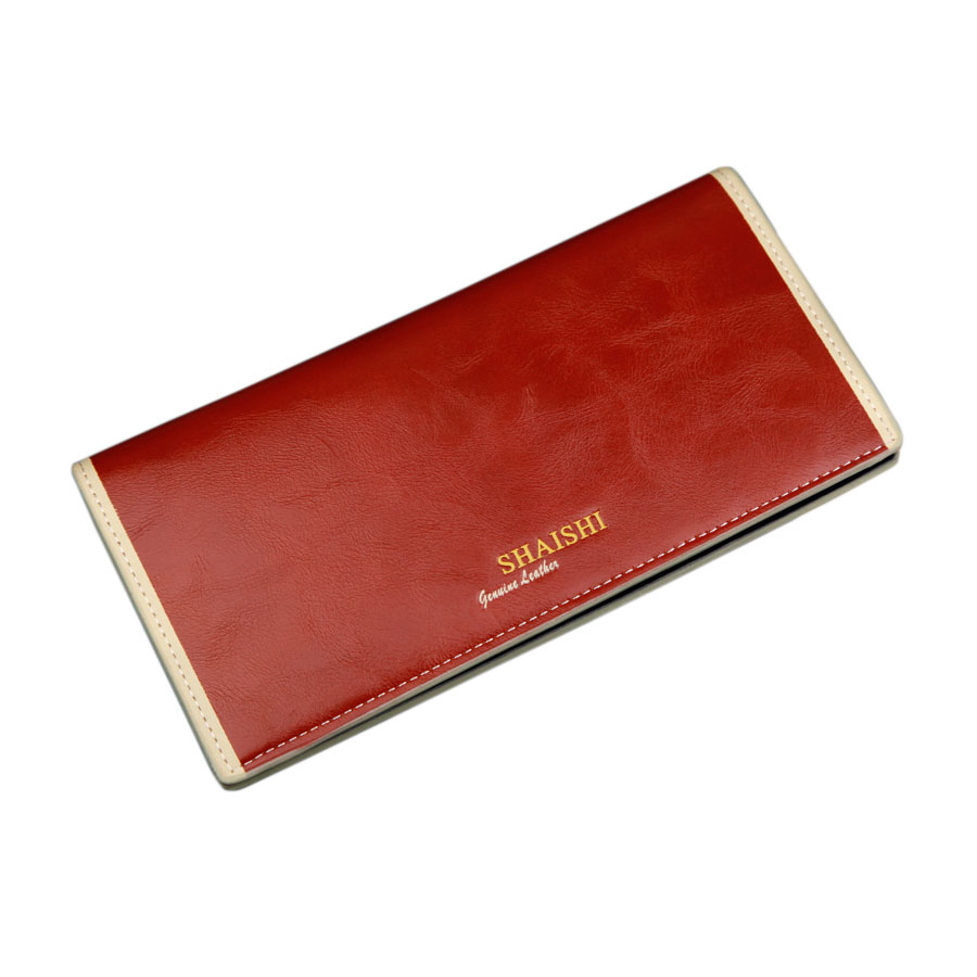 2015 famous brand men genuine leather long clutch Wallet, 4 colors Oil wax cow leather mens purse with card holder&amp;coin pocket<br><br>Aliexpress