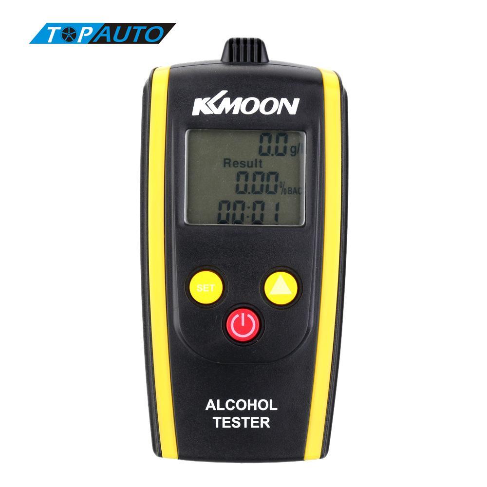 Brand New KKmoon LCD ScreenPortable Digital Alcohol Tester Meter Alcohol Content Detector High Sensitivity Breathalyzer(China (Mainland))