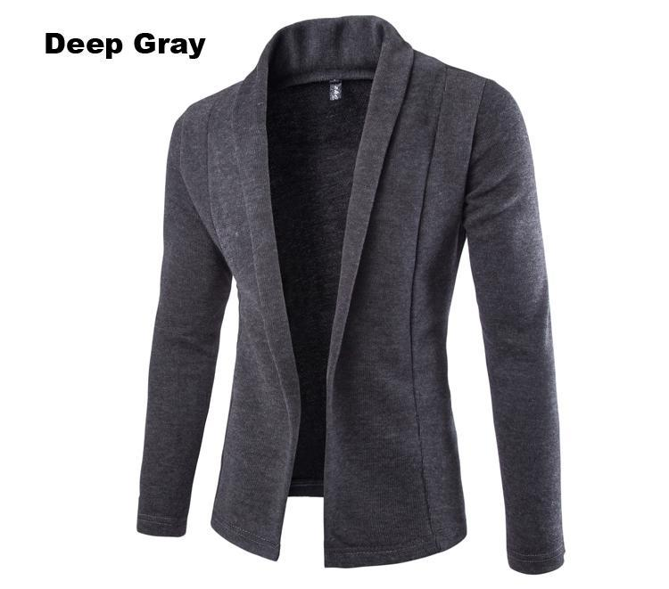 Mens Cardigan Sweater Jumpers 2015 New Arrival Fashion Free Shipping Casual Autumn Men Slim Fit Long Sleeve Sweater(China (Mainland))