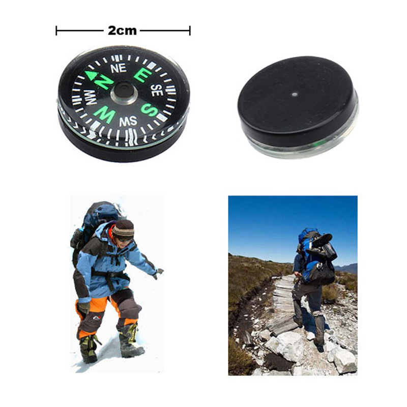 High Quality Pack of 12pcs Small Mini Button Compasses 20mm Wholesale OK Free Shipping(China (Mainland))