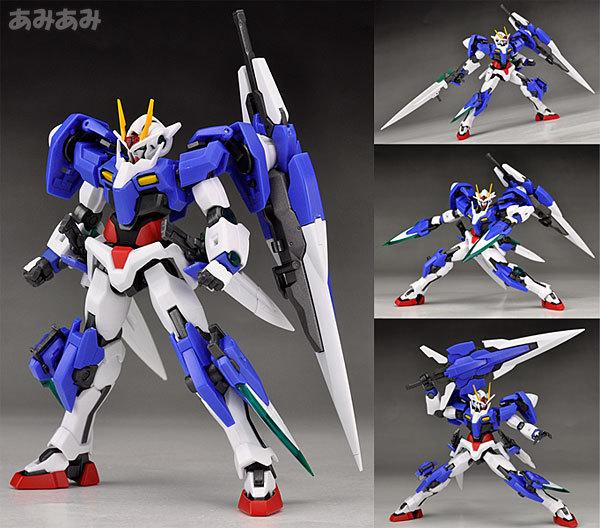 "Free Shipping Anime ""Gundam 00V"" Original Bandai Tamashii Nations Robot Spirits Action Figure No.038 - OO Gundam Seven Sword(China (Mainland))"