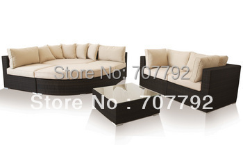 New!Outdoor modern Rattan furniture sofa set(China (Mainland))