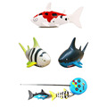 Coke Can Radio RC mini ELECTRIC Electronic Shark fish Boat Kids Toy Submarine Random Color
