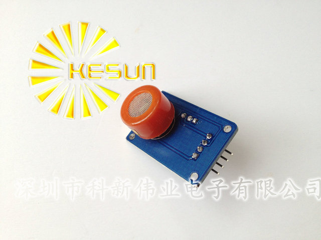 100% New   MQ3 MQ-3 Alcohol Ethanol Sensor Module Breathalyser Gas Checker Breath Detector