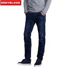 Plus Size 28-40 42 44 46 S-4XL 5XL 6XL 7XL Mens Denim Blue Classic Jeans Casual Pants Mens Slim Straight Jeans 747