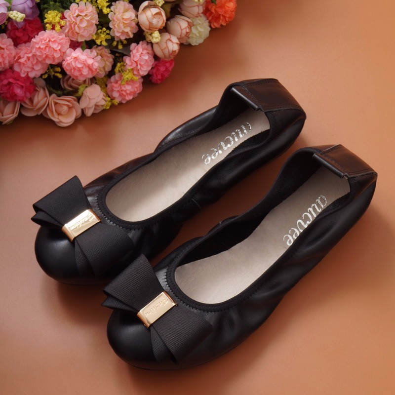 2017 New Egg roll shoes Women Flats Summer Style Casual Artificial Leather Platform Flats Spring Shoes Woman 4 Colors Size 34-43
