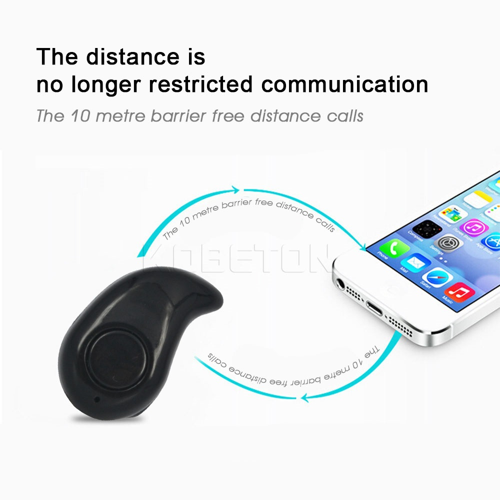 Stereo Mini Wireless Bluetooth Earbud Earphone Headphones Headset With Microphone Universal For iPhone For Samsung(China (Mainland))
