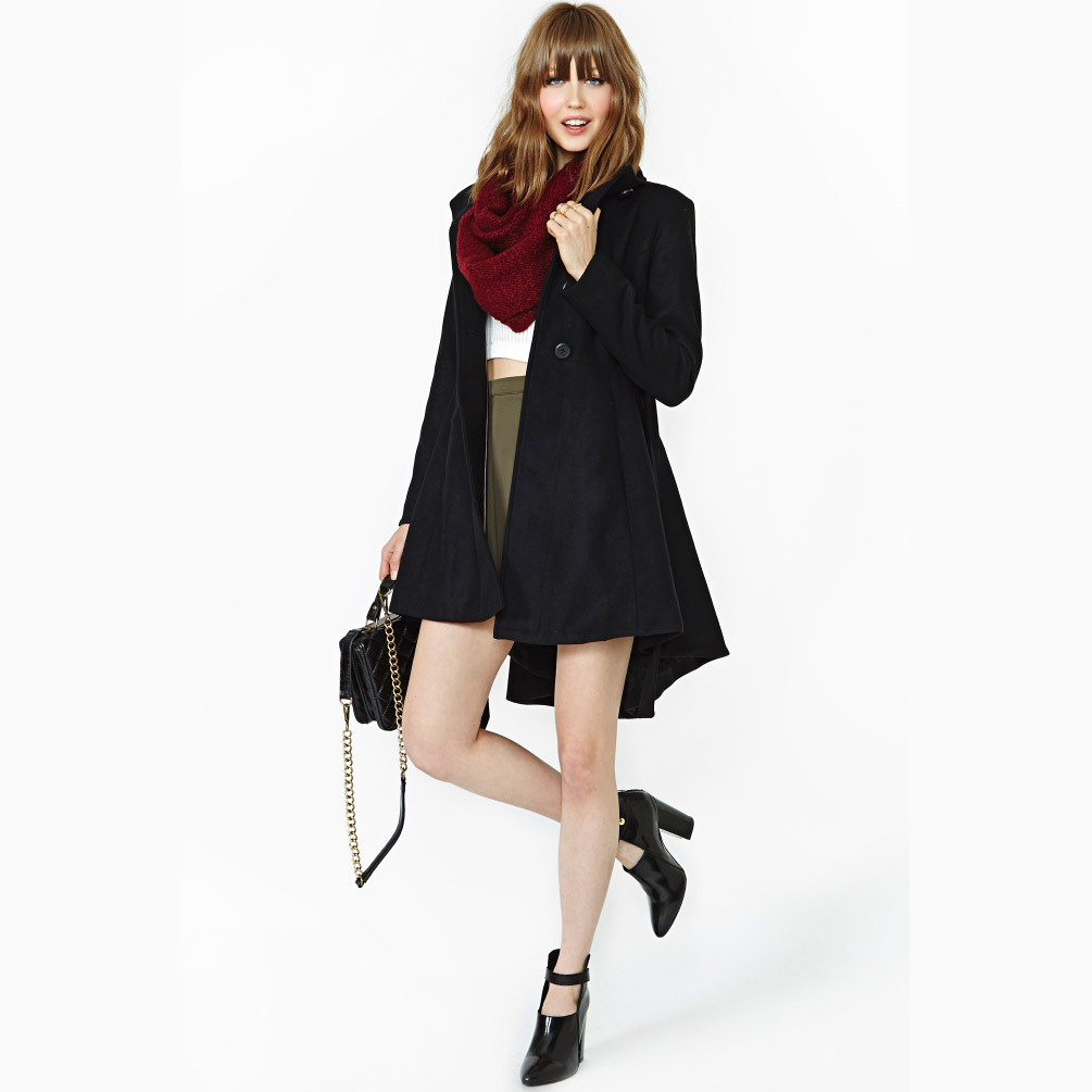 Excellent New Arrival Long Ladies Trench Coat For Women Spring And Autumn Dress