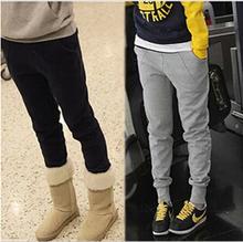 2016 Women's winter Harem Pants Fleece Toursers Warm Sport Dance Joggers Sweatpants Plus Size(China (Mainland))