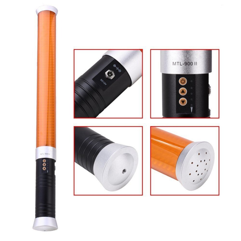 Mcoplus 55cm Portable Handheld 298PCS LED 1600LM beads Magic Tube Light MTL-900 II as Ice Light for photography and videography(China (Mainland))
