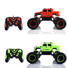 Buy Bi-motor 1:12 Climbing Car 2.4G Remote Control Dual Motor Four-wheel Drive Off-road RC Car Light Sound Effect Model Car for $46.20 in AliExpress store