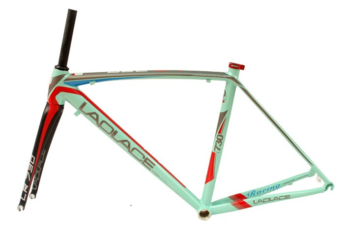 Laplace730 size 50cm road frame alloy bike frame road including carbon fork bicycle frame(China (Mainland))