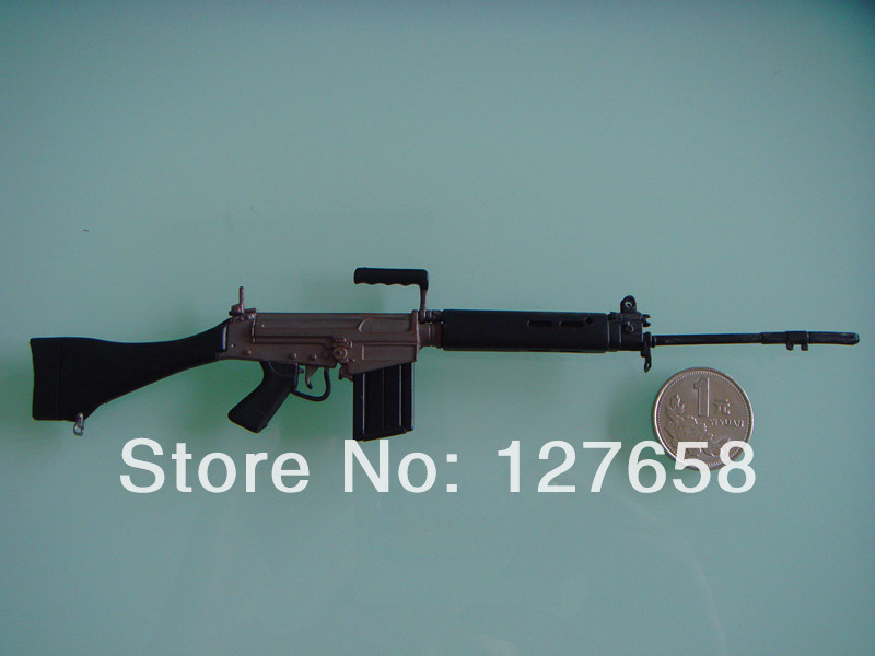 World Weapon Collection 1/6 Military toy model GUN MODEL UK FN-FAL L1A1 SLR L9CM(China (Mainland))
