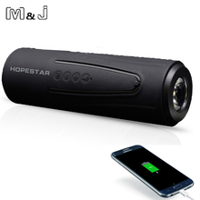 Buy M&J P3 Wireless Bluetooth Speaker Outdoor Bicycle Portable Subwoofer Bass Speakers WaterprooF Power Bank + LED light +Bike Mount for $18.99 in AliExpress store