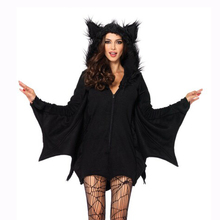Хэллоуин сексуальные женщины костюмы летучая мышь белье одежды для женщин высокое качество M XL Большой размер 2016 новое поступление