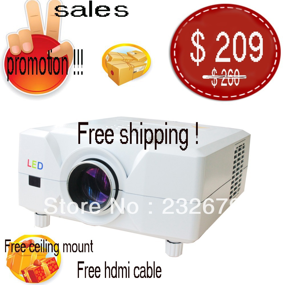 3d digital projector/ beamer / proyector/ projecteur/ beamer/ tor/ pro for home cinema system,factory price!(China (Mainland))