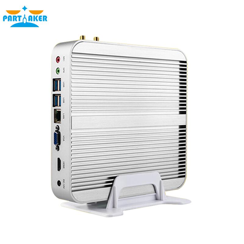 Fanless Barebone i5 Mini PC Win10 3 Years Warranty Mini Computer Core i5 4200U i3 5005U