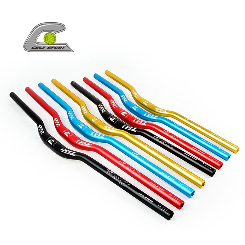 DH downhill race mountain bike handlebar 31.8*700/780mm bicycle Ultra Long Bar aluminum alloy  riser  handlebars mtb bike parts