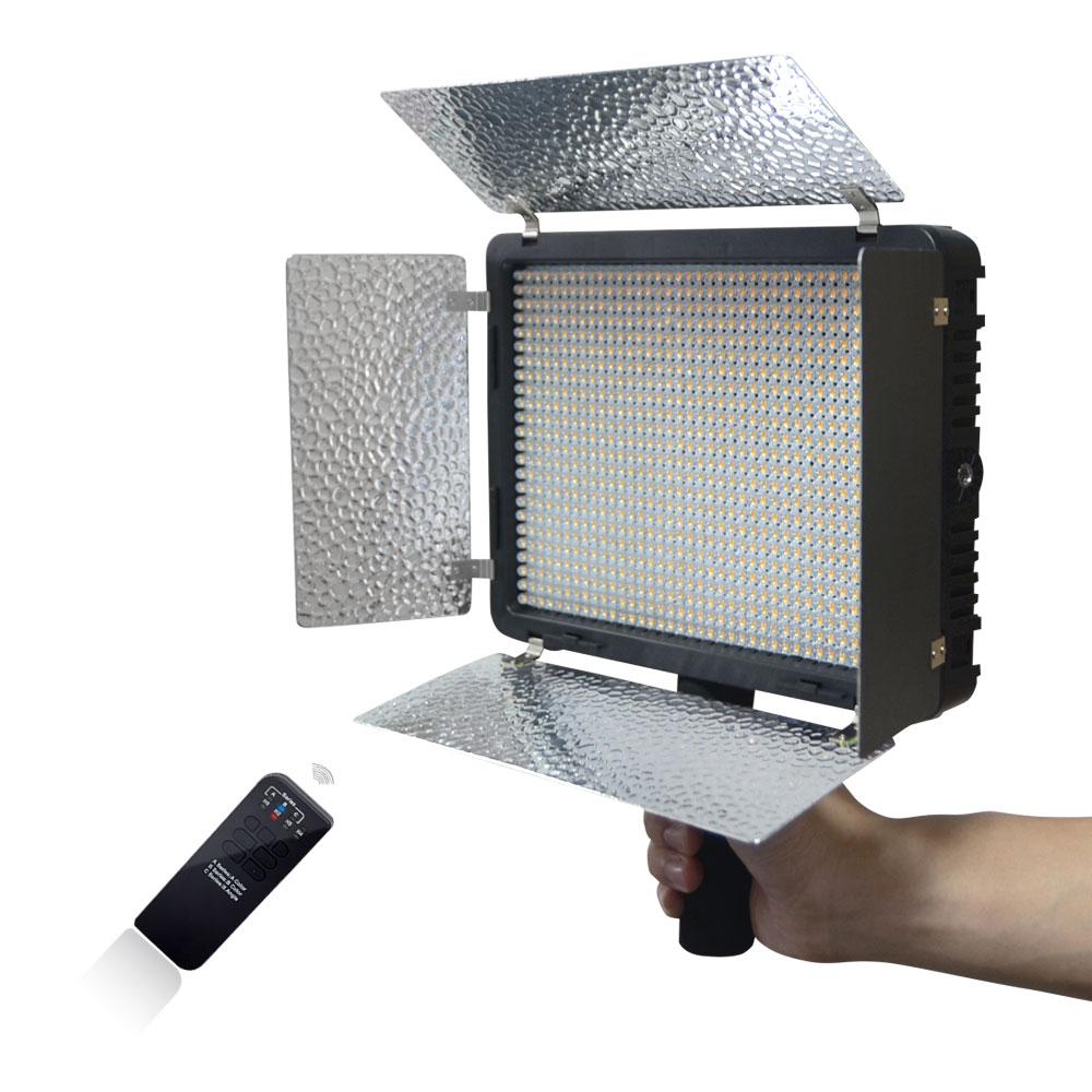 Mcoplus СИД-520A светодиодный свет Вт 528pcs светодиодные лампы 3200К-5500 Цветовая температура 3500lm Сид лампы видео для Canon Nikon Сони DSLR камеры