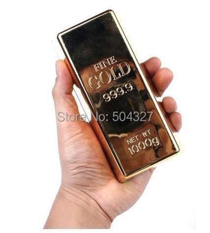 Гаджет  Free Shipping 1Piece Gold Bar Door Stop / Gold Bar Bullion Stopper Paperweight None Аппаратные средства