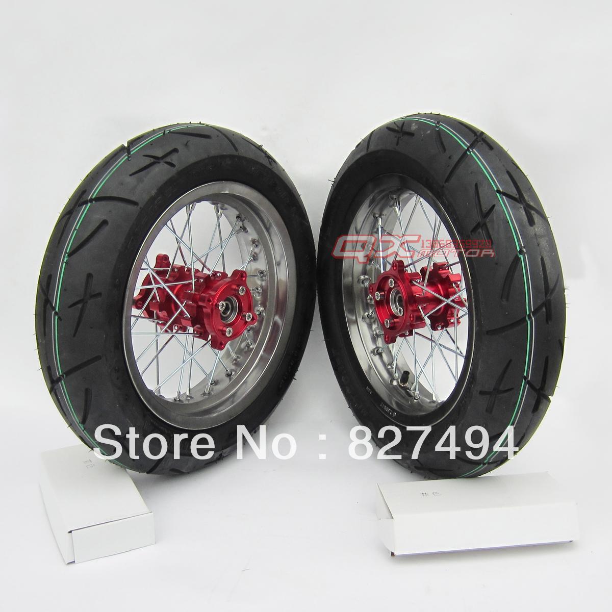 Off-road motorcycle refit 12 cnc rim heat wheel assembly(China (Mainland))