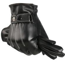 Men Winter Gloves Men's Leather Gloves  driving glove  men Mittens Keep Warm Winter In the wild Gloves (China (Mainland))