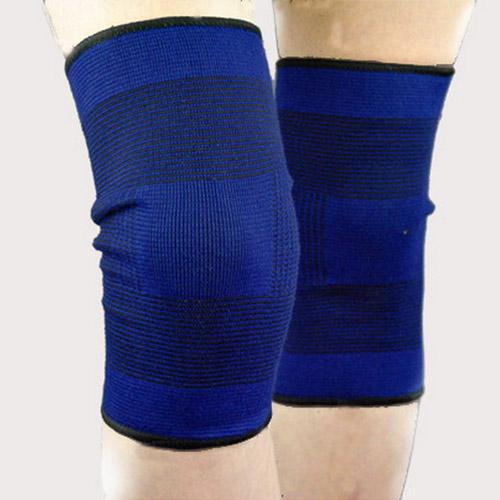 volleyball blue durable knee shin protector guard pad pads kneepad 2015 Top Selling fashion football basketball(China (Mainland))