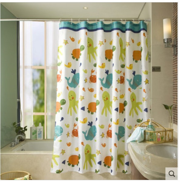 Christmas Bath Shower Curtains Images