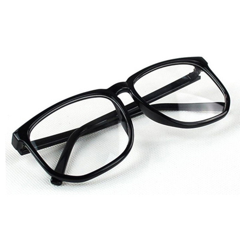 Trendy Hipster Women Men Vintage Retro frame Clear Lens glasses spectacles Wayfarer Designer Nerd Geek Eyeglasses