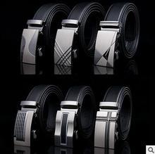 2016 Fashion man designer belts for men adjustable automatic buckle leather belt ceinture 105CM-130 cm (42-52inch) ,14 style