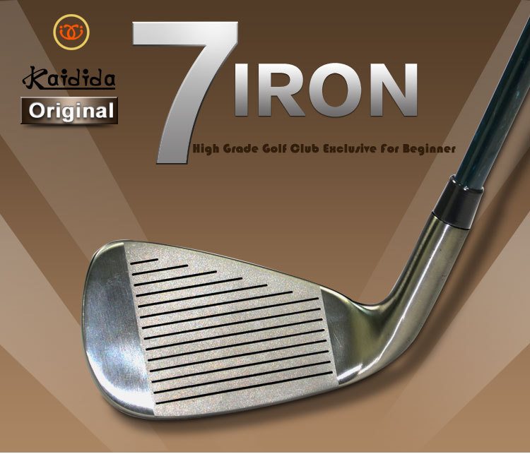 Kadida Original Golf Iron Club 7# Lady and Men Left Hand Golf Clubs for Beginner Graphite Shaft(China (Mainland))