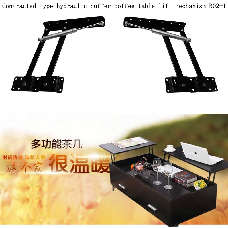 table parts with pop-up function ,laptop table parts ,convertible coffee table mechanism (B02-1)(China (Mainland))