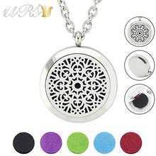 Buy With Chain as Gift! Hot Sale Fashion Design Aromatherapy Locket 316L Stainless Steel Essential Oil Diffuser Locket Necklace for $3.83 in AliExpress store