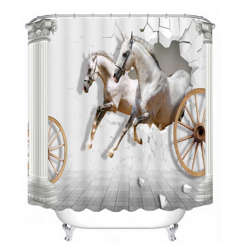 Popular Horse Shower Curtain Hooks Buy Cheap Horse Shower Curtain Hooks Lots From China Horse